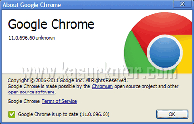 Download Update Google Chrome 11 [ 11.0.696.57 ]