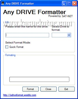 any drive formatter