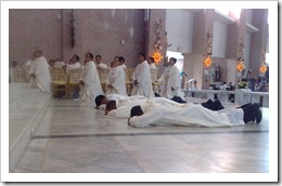 Ordinations on the Feast of St. John the Apostle 2010