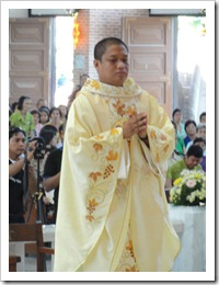 Rev. Fr. Allan Christopher Cayabyab Soriano (Photo courtery of Fr. Estephen Espinoza)