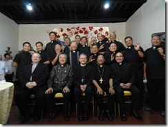 Dinner and program for the Papal Nuncio