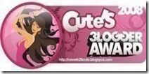 cutesbloggeraward