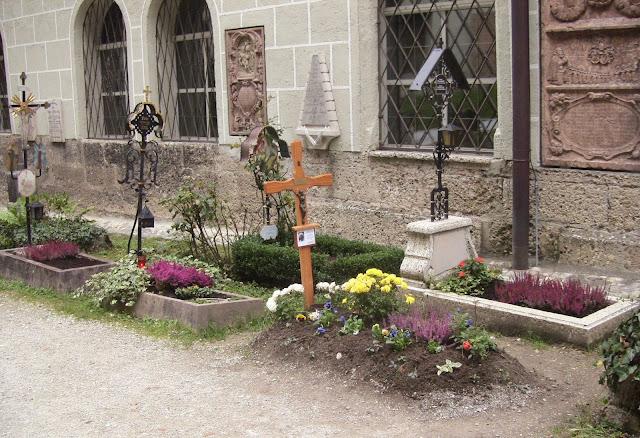 St Peters Cemetery in Salzburg Austria
