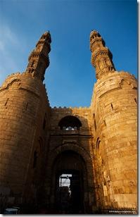 Bab Zuweila Gateway Minarets