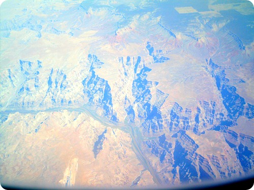 grand canyon in the airplane 009