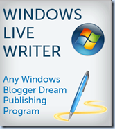 download website editor Windows Live writer