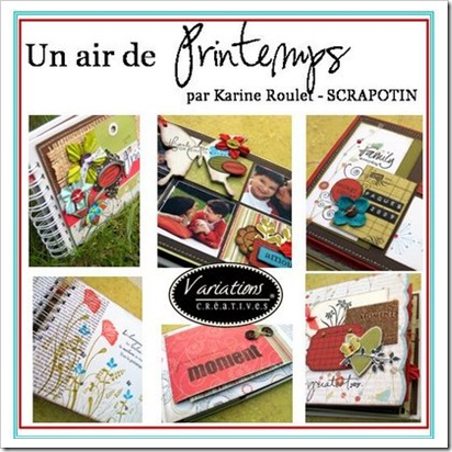 un air de printemps Karine Scrapotin