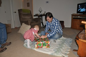 Unwrap presents