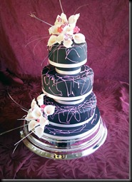 Black-wedding-Cake