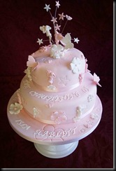 Christening-Cake-2-tier-Fairys