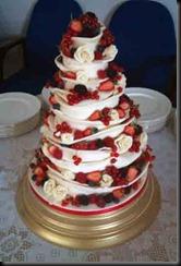 Chocolate-ruffle-cake