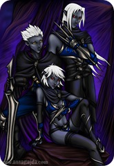 Drow_for_Hire_by_Cyzra
