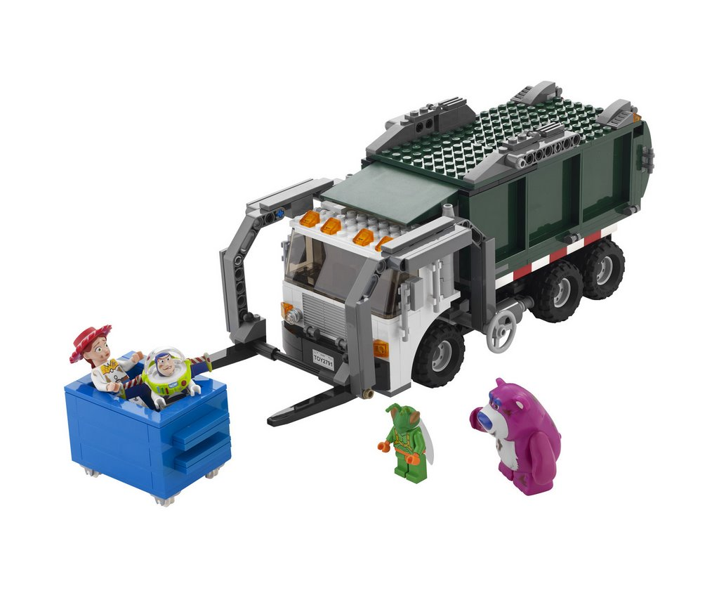 bruder garbage truck instructions