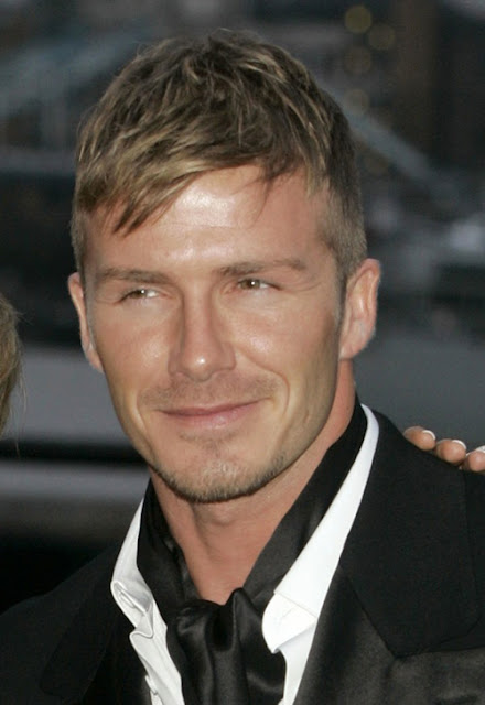 David Beckham arriving at the Sports Industry Awards 2007, Old Billingsgate Market, London.