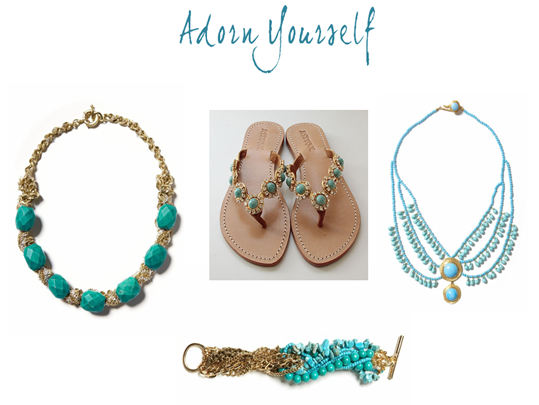 turquoise jewels