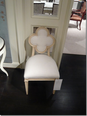 The Quatrefoil Chair And Shape In General Are One Of My Personal Favorites.
