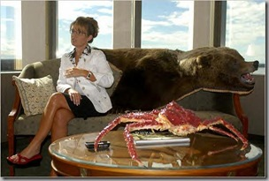 Palin and crab