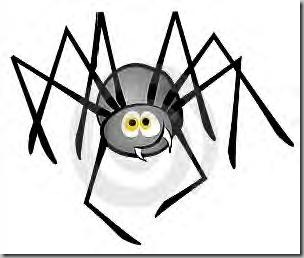 Spider cartoon