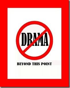 No drama2