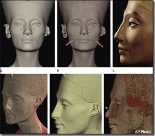 Nefertiti bust2