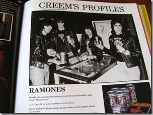 Ramones Creem Profiles