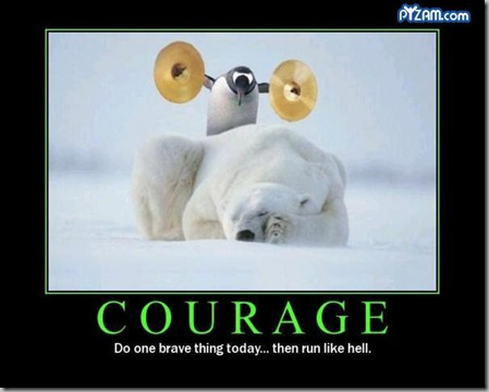Courage penguin