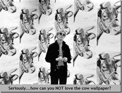 Warhol wallpaper