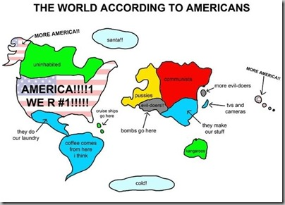 The world acc to Americans