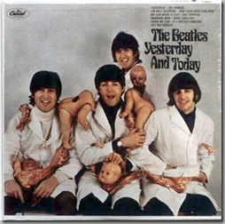 Beatles butcher album cover