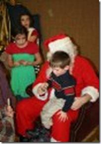 t on santa