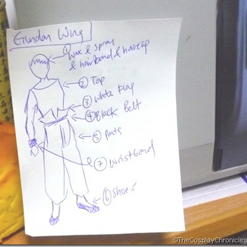 Random Cosplay Tip #1: Visual Checklist