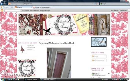 Printscreen blog 21 augustus 09