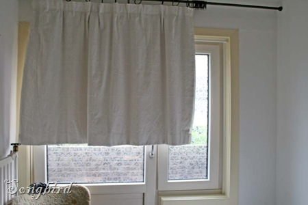 Curtain before