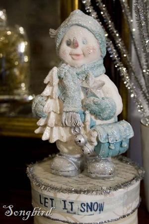 snowman after