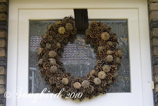 Pine Cone Wreath 1