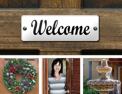 Welcome Doorsign