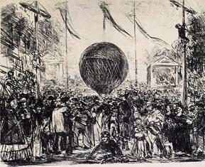 Edouard Manet - Le ballon, 1862 2