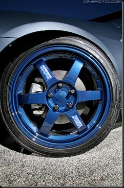 Blue Volk TE37