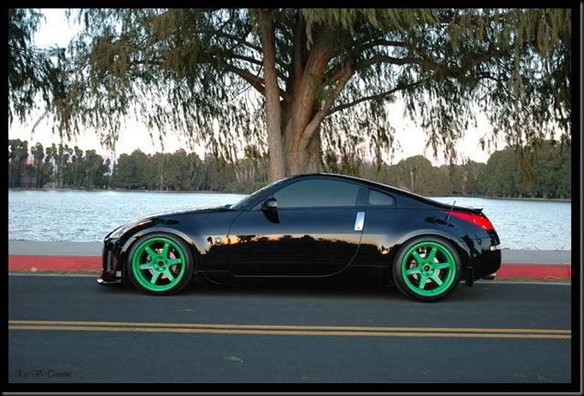 Takata green Volk TE37