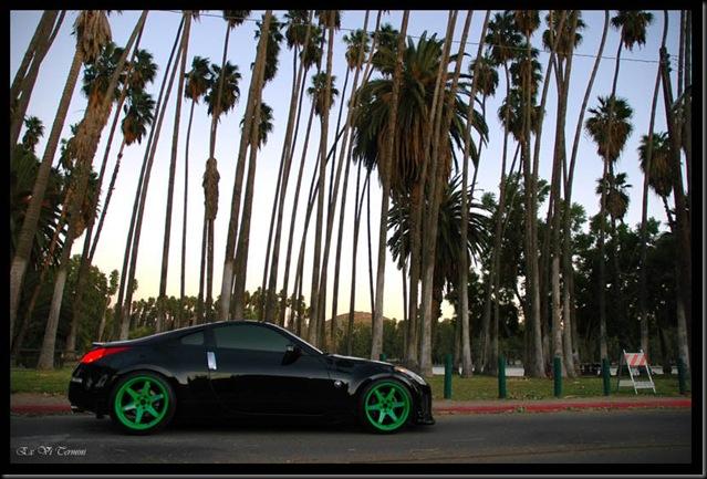 350Z Nissan Takata Green