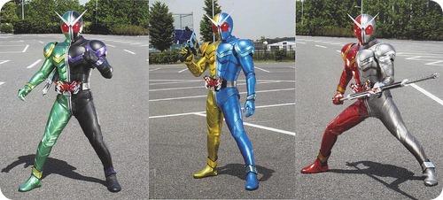 Kamen Rider W 3 Henshin Form
