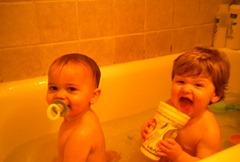 bath time!