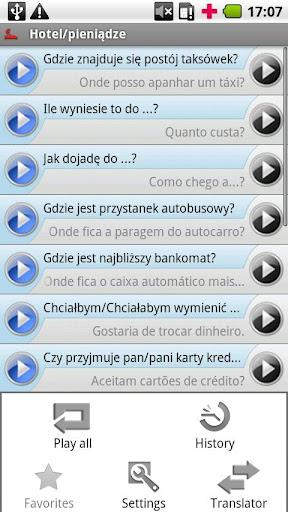 iSayHello 波兰语 - 葡萄牙语 欧洲
