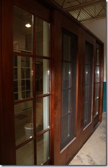 lift and slide wood door