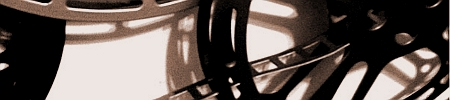 Image used as a section break.  Shows a section of film reels