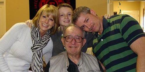 80th birthday family
