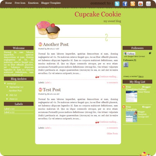 cupcake-cookie-blogger-template