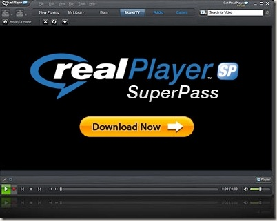 RealPlayer-SP