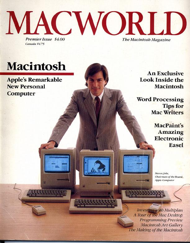 Macworld创刊号封面