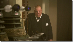 Daleks and Winston Churchill